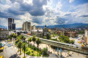 Colombia-Medellin-uitzicht-stad