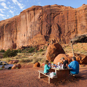 Amerika-Monument-Valley-Ontbijt