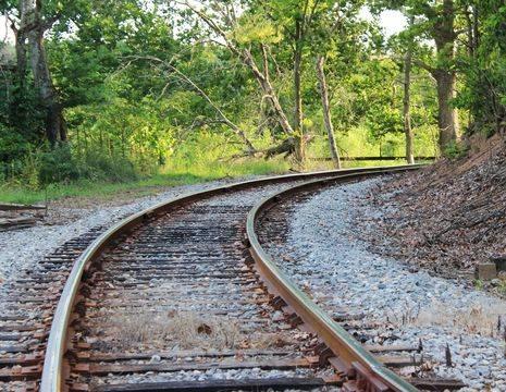 Amerika-Shenandoah-Valley-Spoorweg