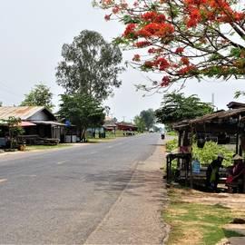Dorpje in Zuid-Laos