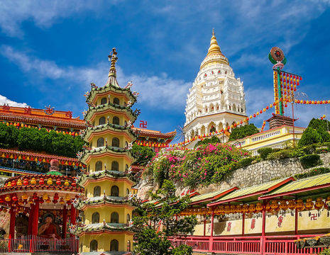 Maleisie-Penang-tempels