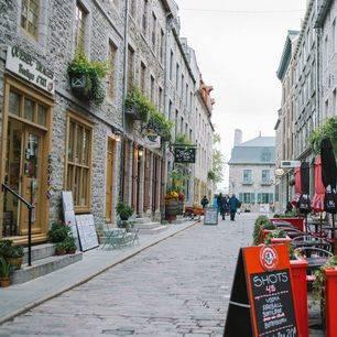 Canada-Quebec-Sfeervolle-Straat