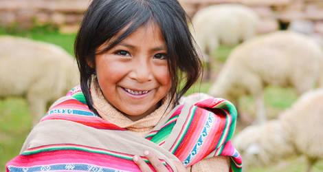 Ecuador-mensen-meisje