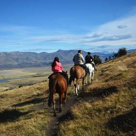 Paardrijden bij El Calafate