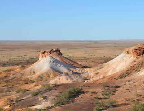 Australie-Coober-Pedy-woestijnlandschap