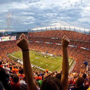 Amerika-Denver-Football