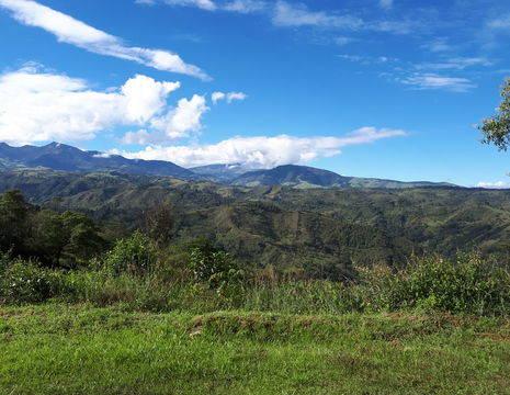 Colombia-Popayan-groene-omgeving
