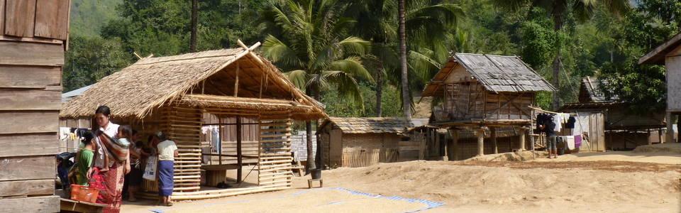 Ongerept Zuid-Laos