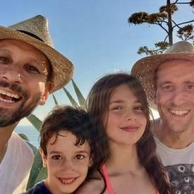Martin met zijn gezin