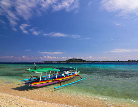 Indonesie-Lombok-Gili Meno-vissersbootje_1
