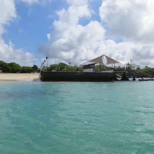Aankomst op Isabela Island