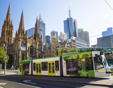 Australie-Melbourne-St-Pauls-Cathedral