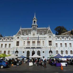 Chili-Valparaiso-marktplein