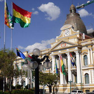 Gebouwen-in-La-Paz-Bolivia