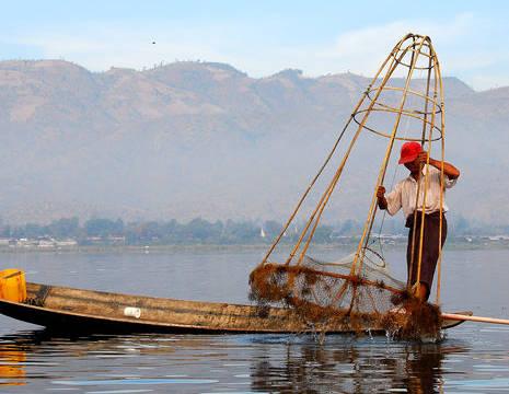 Myanmar-Inle Lake-visser1(8)