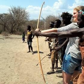 Boogschieten in Tanzania