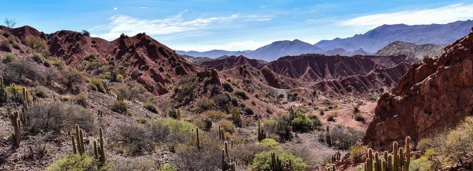 Prachtige uitzichten in Tupiza - Bolivia