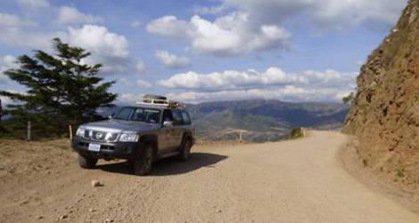Door de bergen van Samaipata naar La Higuera - Bolivia