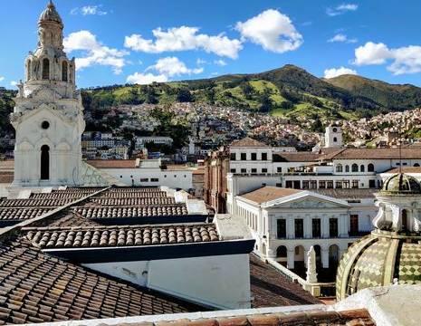 Ecuador-Quito-oude-centrum