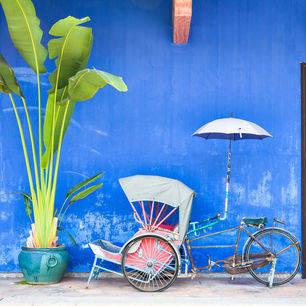 Penang-rickshawbluemansion
