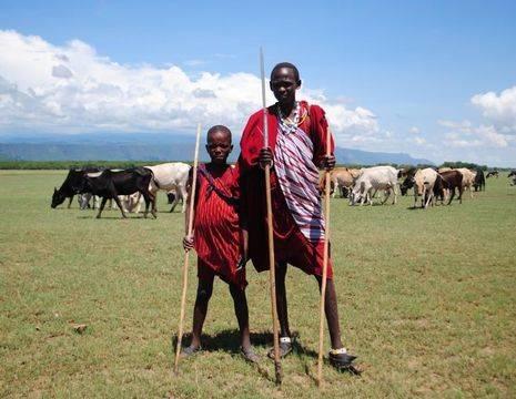 Tanzania-Lake-Manyara-Masai