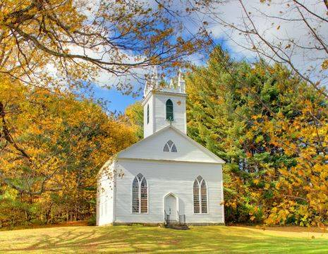 Amerika-Berkshires-Kerkje