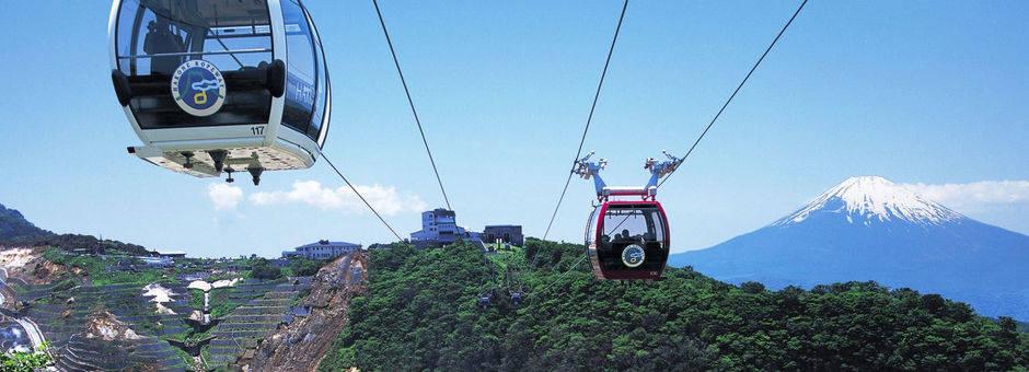 Japan-Hakone-Kabelbaan