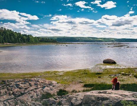 Canada-Saguenay-Meer