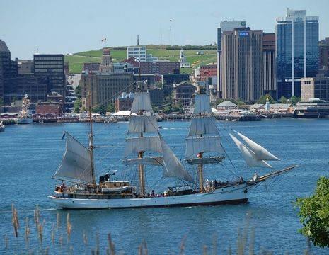 Canada-Halifax-Nova-Scodia-skyline