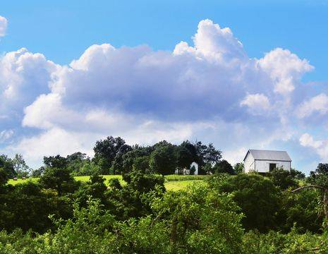 Amerika-Shenandoah-Valley-Landschap