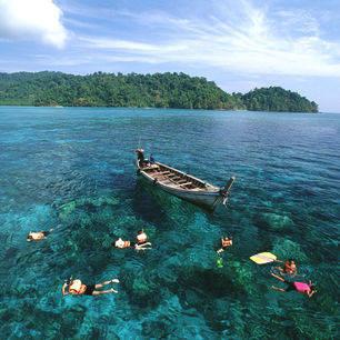 Zuid-thailand-snorkelen