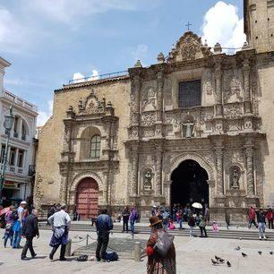 Plein-gebouwen-La-Paz-Bolivia
