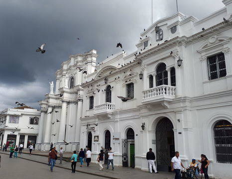 Colombia-Popayan-gebouw