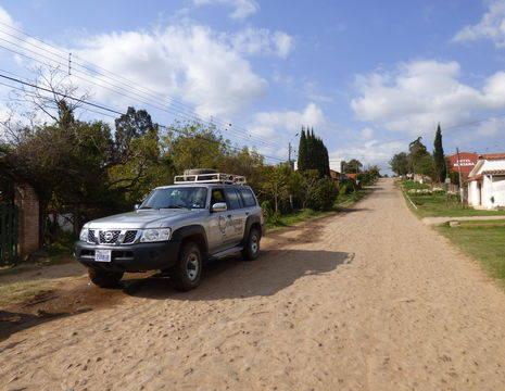 De route van Samaipata naar La HIguera - Bolivia
