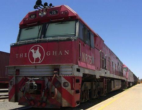 Australie-Ghan-trein