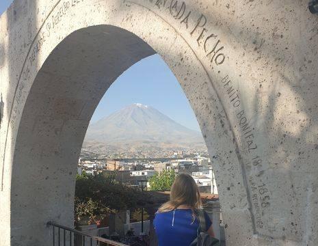 Peru-Arequipa-Misti-Vulkaan
