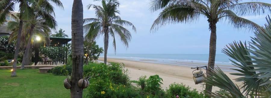 Strand van Pranburi