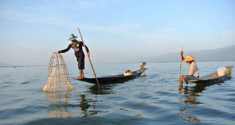 Myanmar-Inle-lake-vissers_1_491483