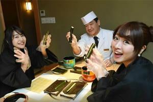 Cursus sushi maken met lunch