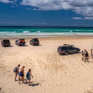 Australie-Fraser-Island-strand-excursie