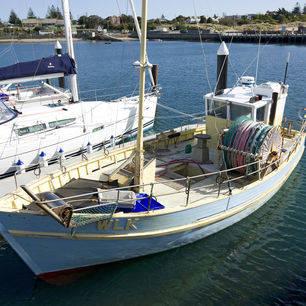 Australie-Apollo-Bay-vissersboot