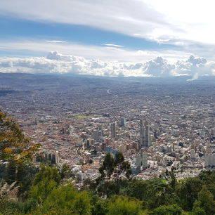 Colombia-Bogota-miljoenenstad-hoofdstad