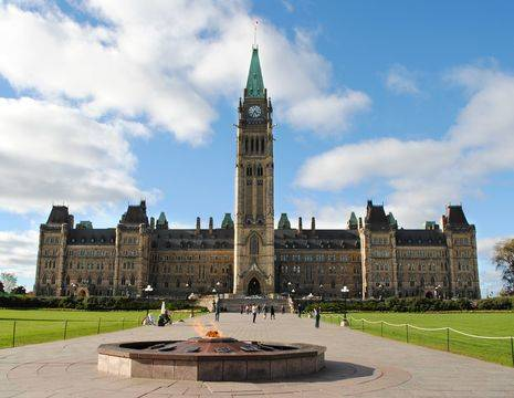 Canada-Ottawa-Parlementsgebouw-1