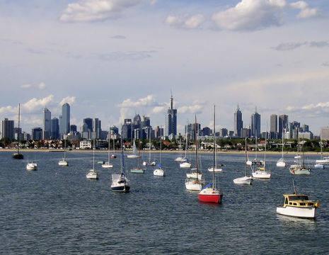 Australie-Melbourne-skyline