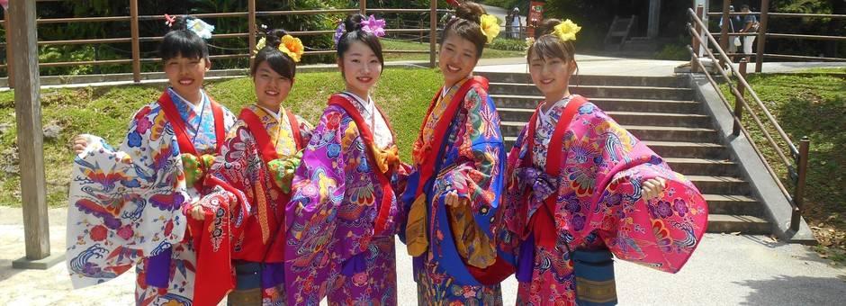 Okinawa-Japanse-Vrouwen