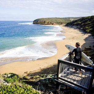 Australie-Great-Ocean-Road-surfstranden