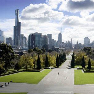 Australie-Melbourne-uitzicht-stad