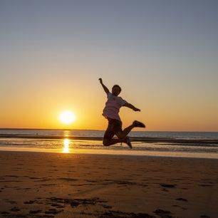 Australie-Darwin-zonsondergang-strand