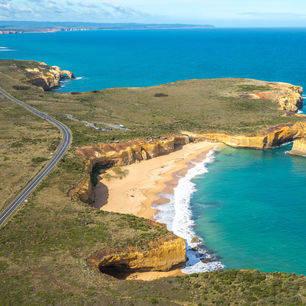 Australie-Great-Ocean-Road-kustlijn
