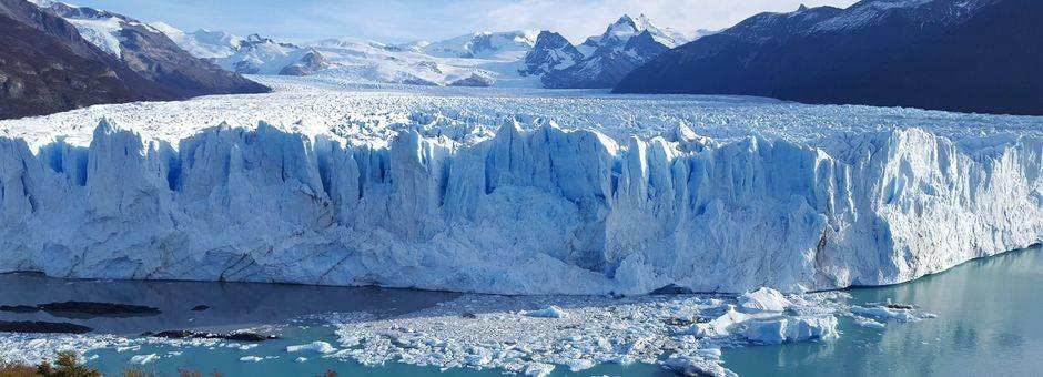 De Perito Moreno Gletsjer bij El Calafate